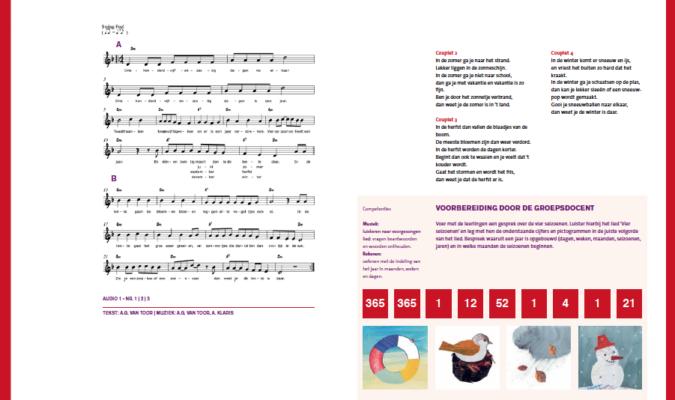 Lesboek Op Muziek kan je Rekenen